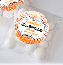 confetti personalised sweet favour bags favour kits birthday