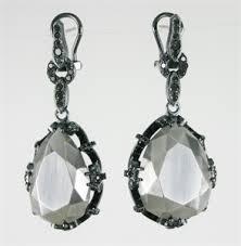 antoinette earrings one of a jewelry larman jewelry metal arts