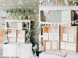 idã e plan de table mariage mariage je veux un plan de table original décoration