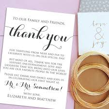 Wedding Invitation Cards Usa Wedding Thank You Card Template Lilbibby Com