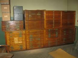 Wood Flat File Cabinet Blueprint File Cabinet Com Five Drawer Blueprint Filing Cabinet