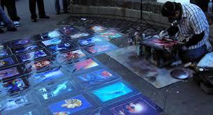 Spray Paint Artist - la vie soleil blog archive fisherman u0027s wharf wonders