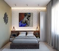 Brick Accent Wall by 3 Chic Modern U0026 Eclectic Spaces