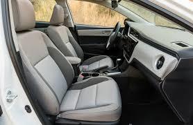 toyota corolla seats 2017 toyota corolla trim comparison