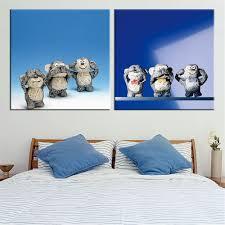 Monkey Home Decor Monkey Paintings Promotion Shop For Promotional Monkey Paintings