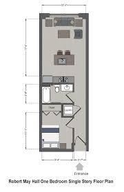 Single Story Floor Plans Robert May Hall Slu