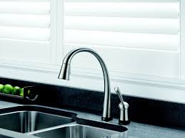 delta pilar pull down kitchen faucet with touch2o technology