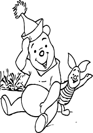 winnie pooh piglet coloring wecoloringpage
