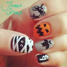 top 15 halloween mummy nail designs u2013 new simple home manicure