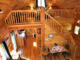 outstanding painted log home interiors using grey paint colors for