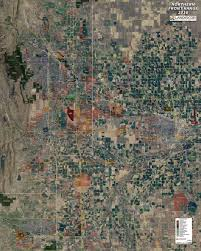 northern front range aerial wall mural landiscor real estate wall map mural northern front range