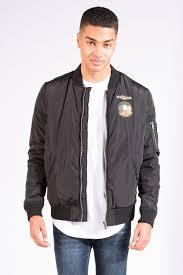 mens zip front patch er jacket at bluenotes