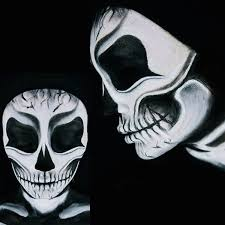 get the look how to create y skull makeup tutorial beauty beauty world news