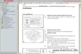 toyota corolla verso 2004 2009 service manual repair manual order