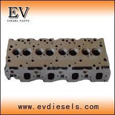 diesel engine parts 4le2 cylinder head isuzu oem number 5 87810