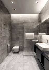 Masculine Bathroom Decor Man Bathroom Ideas Sleek White Checkered Floor Tile Smooth Stone
