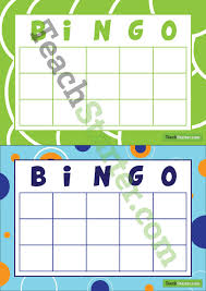 blank bingo cards no free space