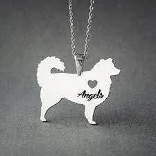 australian shepherd how much australian shepherd necklace personalized dog necklaces
