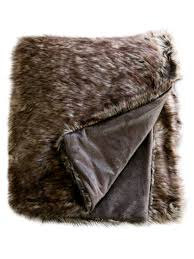 Pottery Barn Fur Blanket 15 Budget Friendly Faux Fur Home Accents Hgtv U0027s Decorating