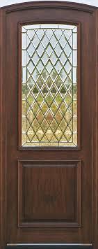 Glass Exterior Door Arched Doors Exterior Arched Top Doors Mahogany Door