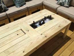 coffee table with cooler beer cooler coffee table projects for later pinterest coffee