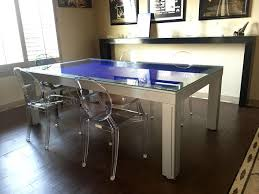 Pool Table Converts To Dining Table by Trinity Dining Room Pool Tables