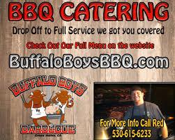 bbq catering buffalo boys nor cal barbecue