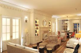 home design english style apartment in english design style