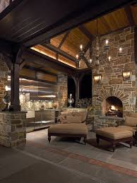 Fake Outdoor Fireplace - ideas for outdoor fireplace and grill