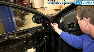 car volkswagen side view how to install replace side rear view mirror 2005 10 volkswagen vw