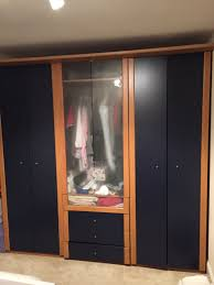 used ikea askedal wardrobes 3 modules in ig3 ilford for 150 00
