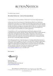 leadership recommendation letter letter of recommendation for