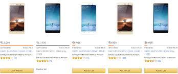 amazon xiaomi demand falls for xiaomi redmi note 3 16 gb on amazon 32 gb sold