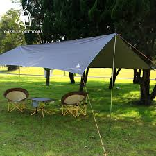 Camping Tent Awning Garden Tent Canopy Home Outdoor Decoration