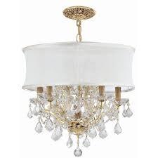 Drum Pendant Lighting Cheap Drum Shape Clear Glass Mini Pendant Light Beautifulhalo Chandelier