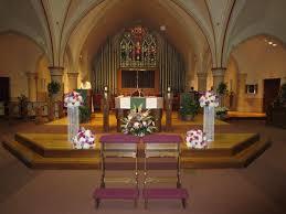 wedding altar flowers altar flowers fr a church ceremony wedding flowers gallery