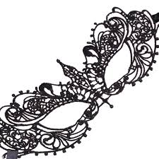 halloween mask cutouts online shop 2015 sales black lace lady u0027s mask free