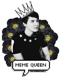 Dan Howell Memes - dan howell meme queen discovered by gin on we heart it