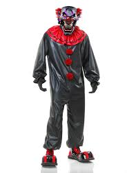 scary clown costumes joe evil clown mens costume spirit