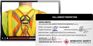 fall protection worksite safety