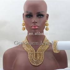 african crystal beads necklace images 2016 wholesale fashion royal blue african crystal beads jewelry jpg