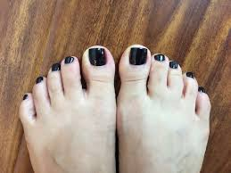 pedicure by mai opi lincoln park after dark wished that my big