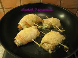 cuisiner le carrelet roulé de carrelet et saumon fumé elisabeth o fourneaux