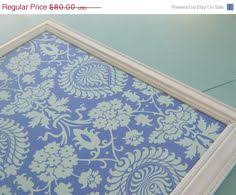 the same fabric as my dressers framed bulletin board magnet board
