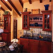 kitchen paint colors with cherry cabinets for small and large kitchens