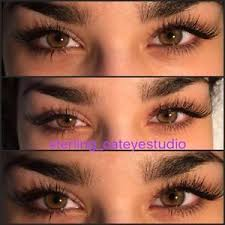 makeup artist and eyelash extensions