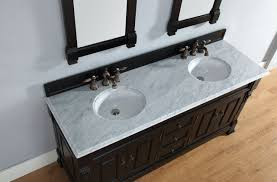 abstron 72 inch antique black double bathroom vanity optional