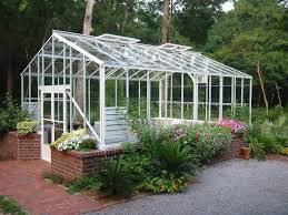 Greenhouse Gazebo Cross Country Traditional 16x20 Glass Greenhouse Ftr1620sg