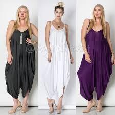 dress jumpsuit boutique plus size harem oversized fit jumpsuit dress from