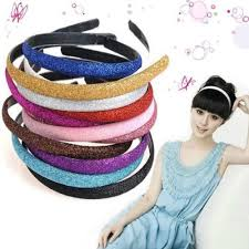 glitter headbands 6 colors new fashion women glitter headband sparkling